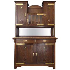 Fine Secessionist Cabinet Attributed to Moser