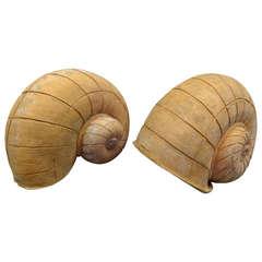 Terracotta Snail Garden Ornaments