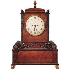 Regency Period Musical Clock Attributed to Bullock