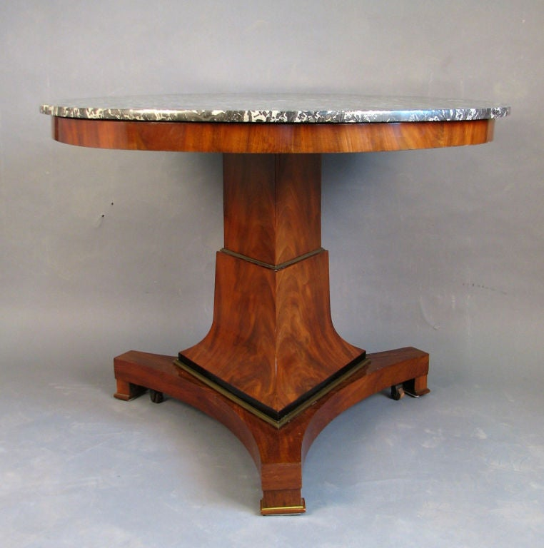 Early 19th Century German Center Table 2