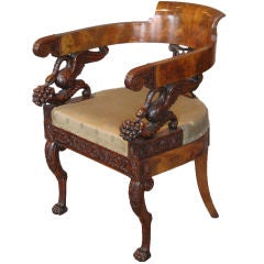 Rare Italian Desk Chair