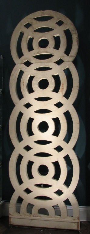 Concentric Circle Baluster Element For Sale At 1stdibs