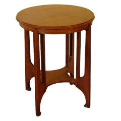 Belgian Secessionist Side Table