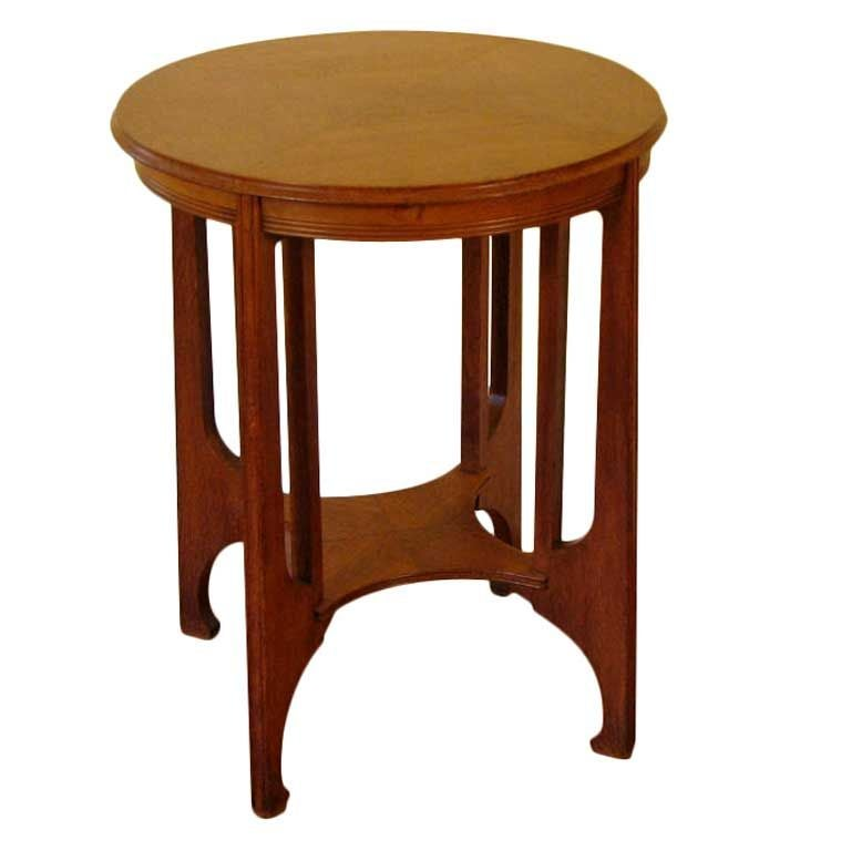 Belgian Secessionist Side Table At 1stdibs