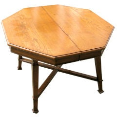Octagonal Arts & Crafts Center Table