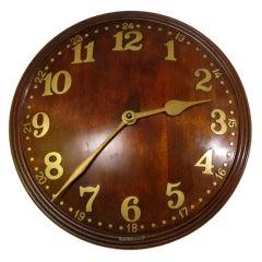 Convex Wall Clock