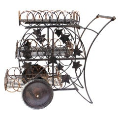 Wonderful Iron Garden Trolley