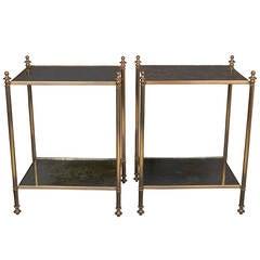 Jansen Style Brass Tables