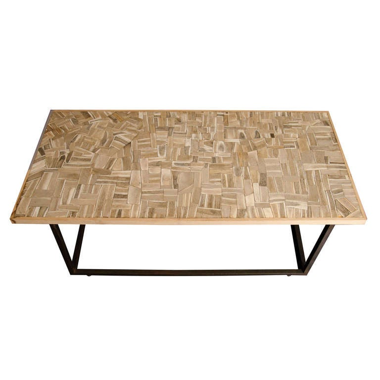 Mosaic Coffee Table at 1stdibs