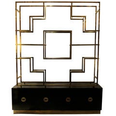 Man made low shelving unit by peter marigold at 1stdibs - Etagere charlotte perriand ...