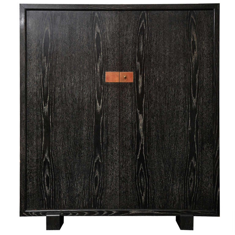 Cerused French Oak Kitchens And Cabinets: French Cerused Oak Cabinet At 1stdibs