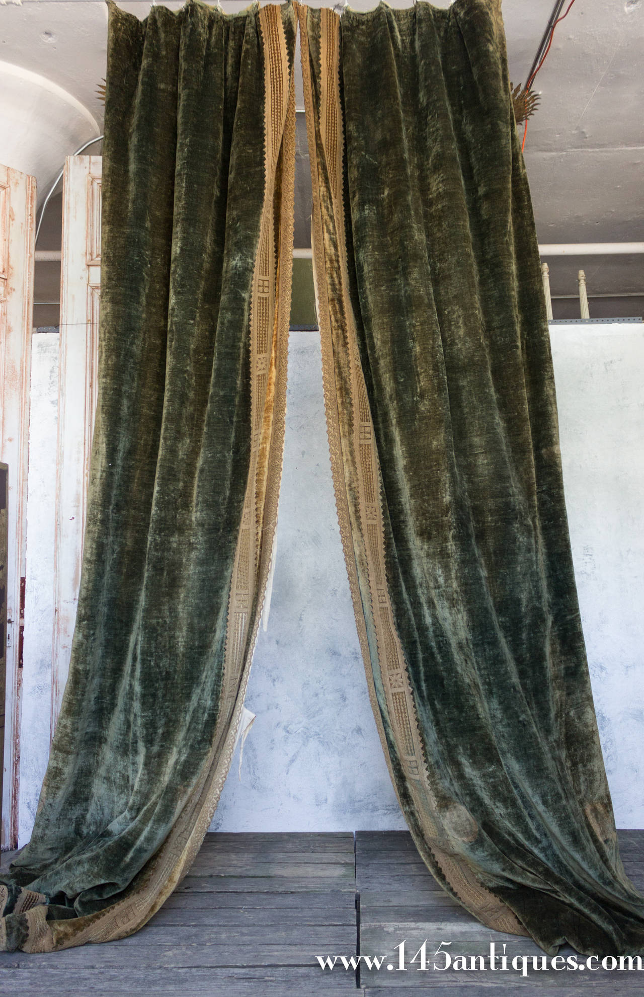 Green Velvet Curtains For Sale Blue Curtains for Sale