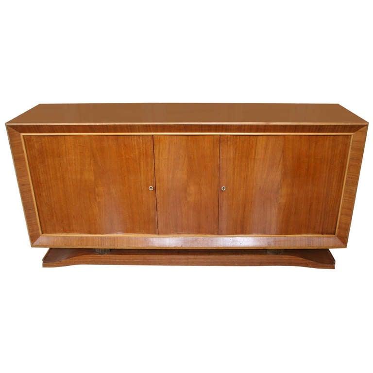 French 1940s Mahogany Sideboard