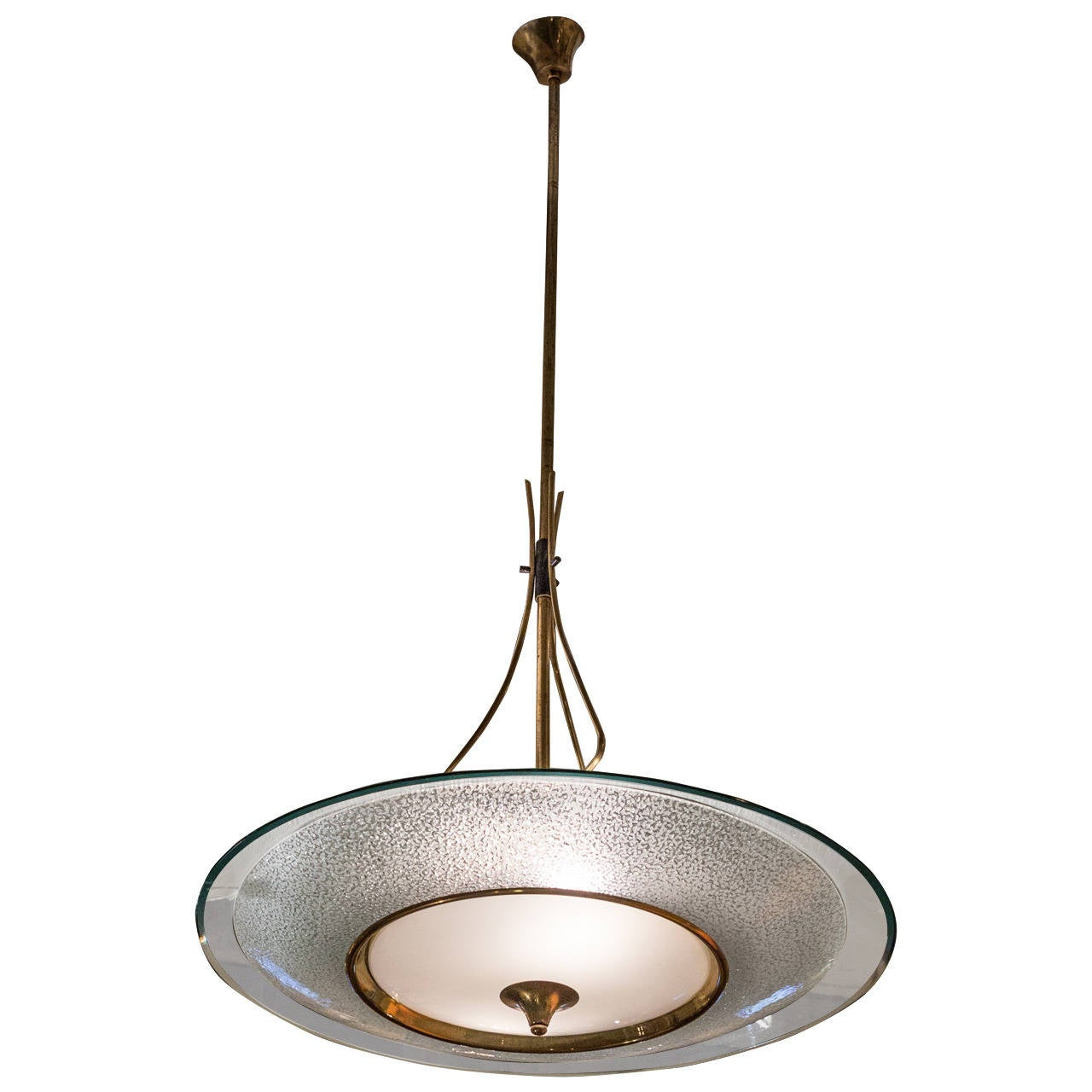 Amazing mid century modern light fixture in the style of for Mid century modern pendant light fixtures