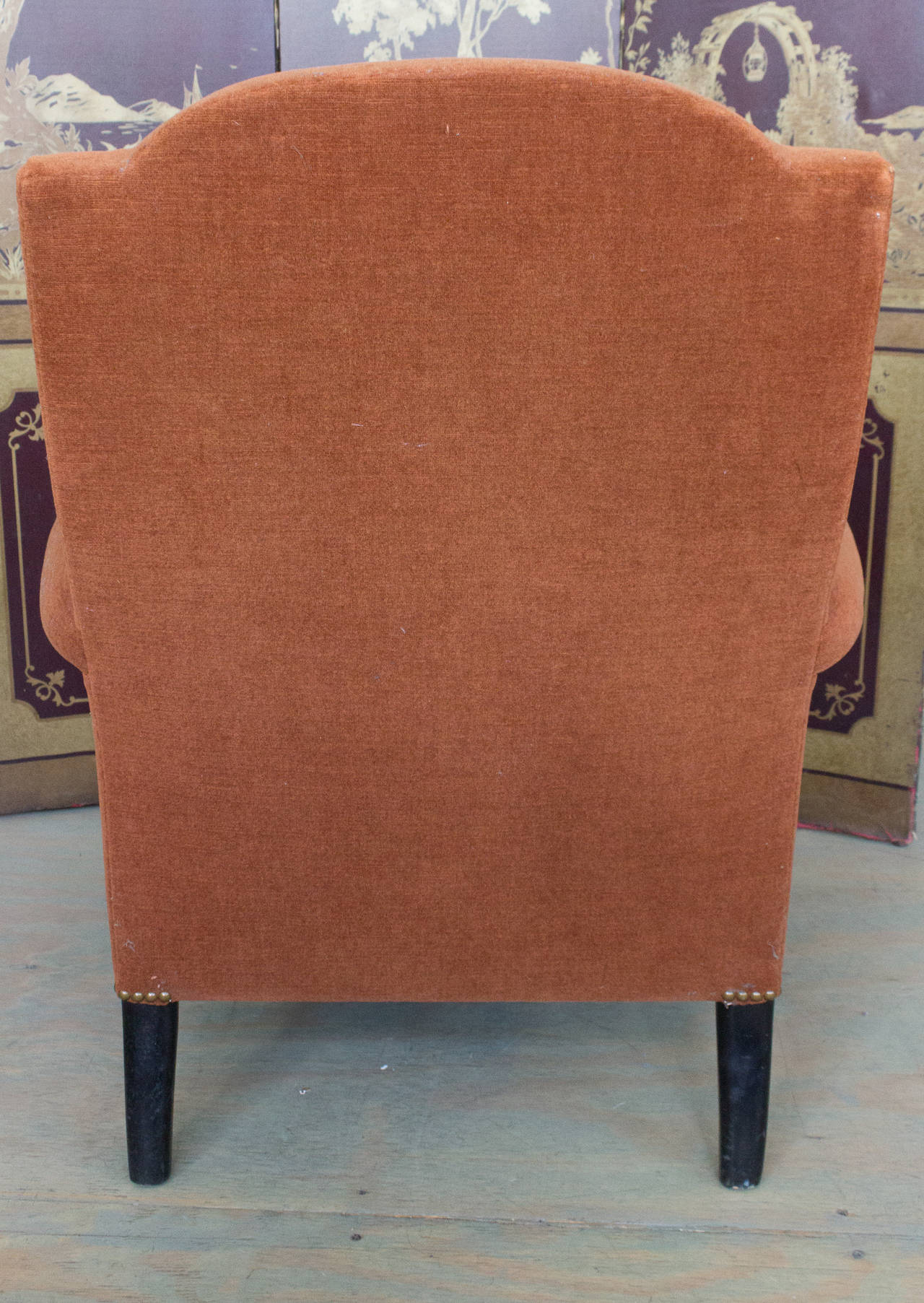 Reproduction of a Napoleon III Armchair For Sale 4