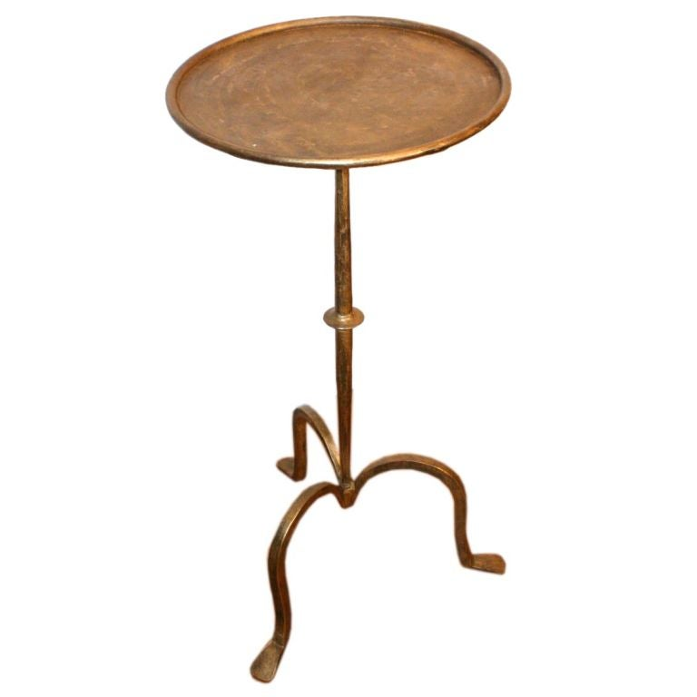 iron martini table at 1stdibs