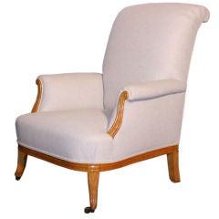 French Art Nouveau Armchair