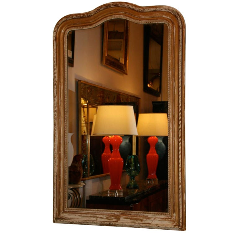 French 19th Century Louis Philippe Mirror