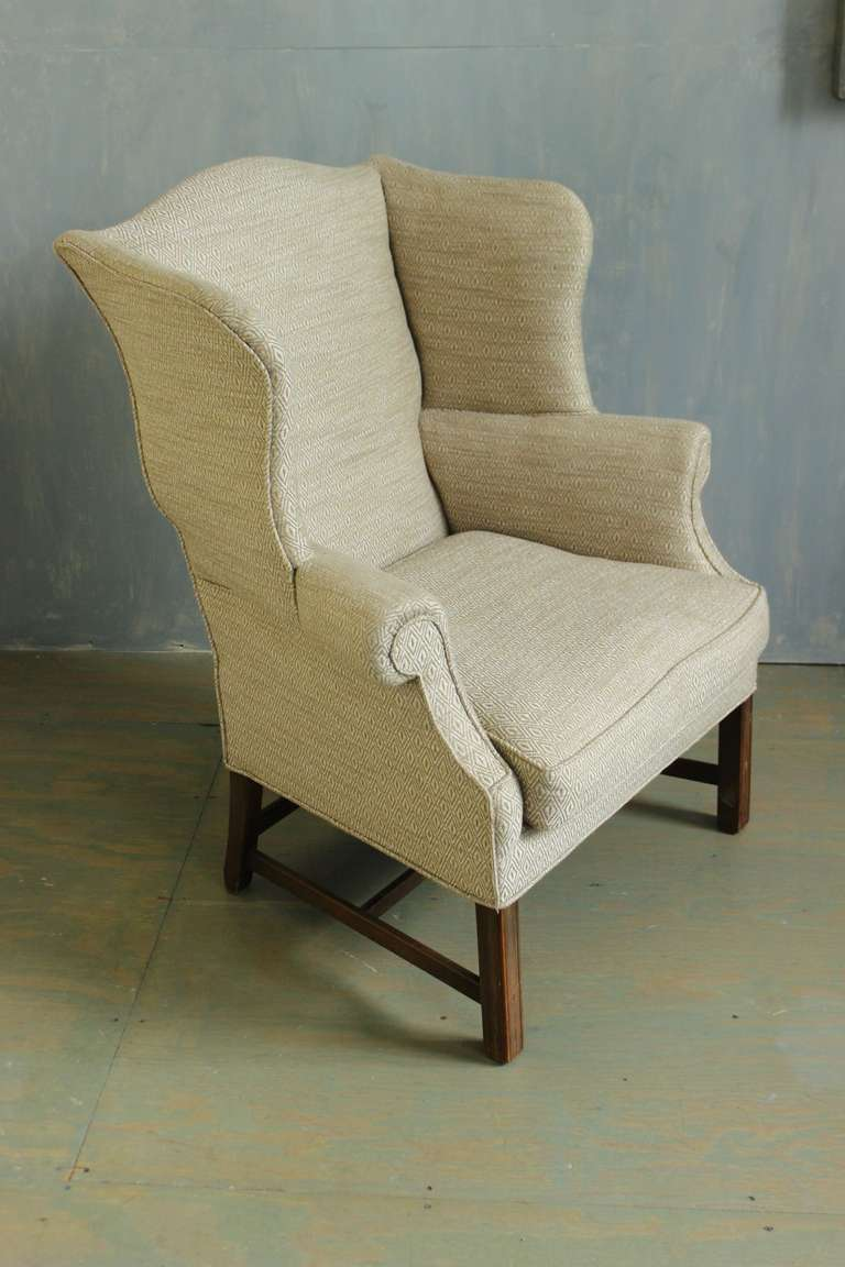 Large wingback armchair for sale at 1stdibs for Oversized armchairs for sale