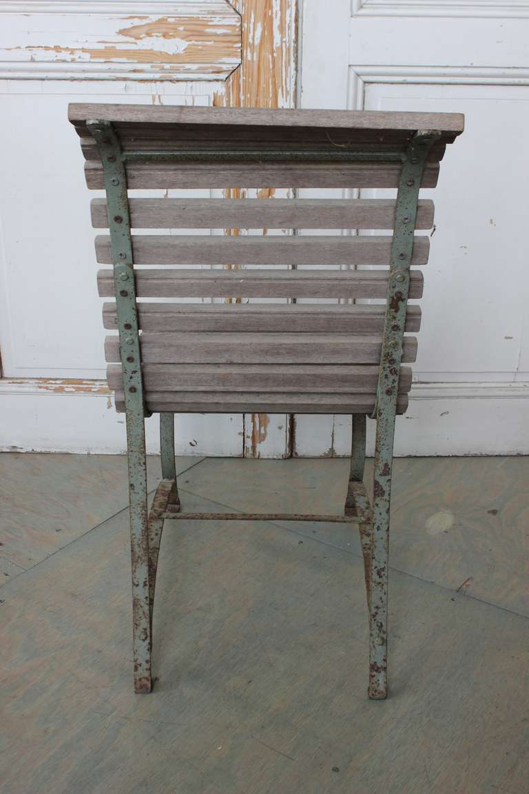 French Garden Side Chair For Sale 1