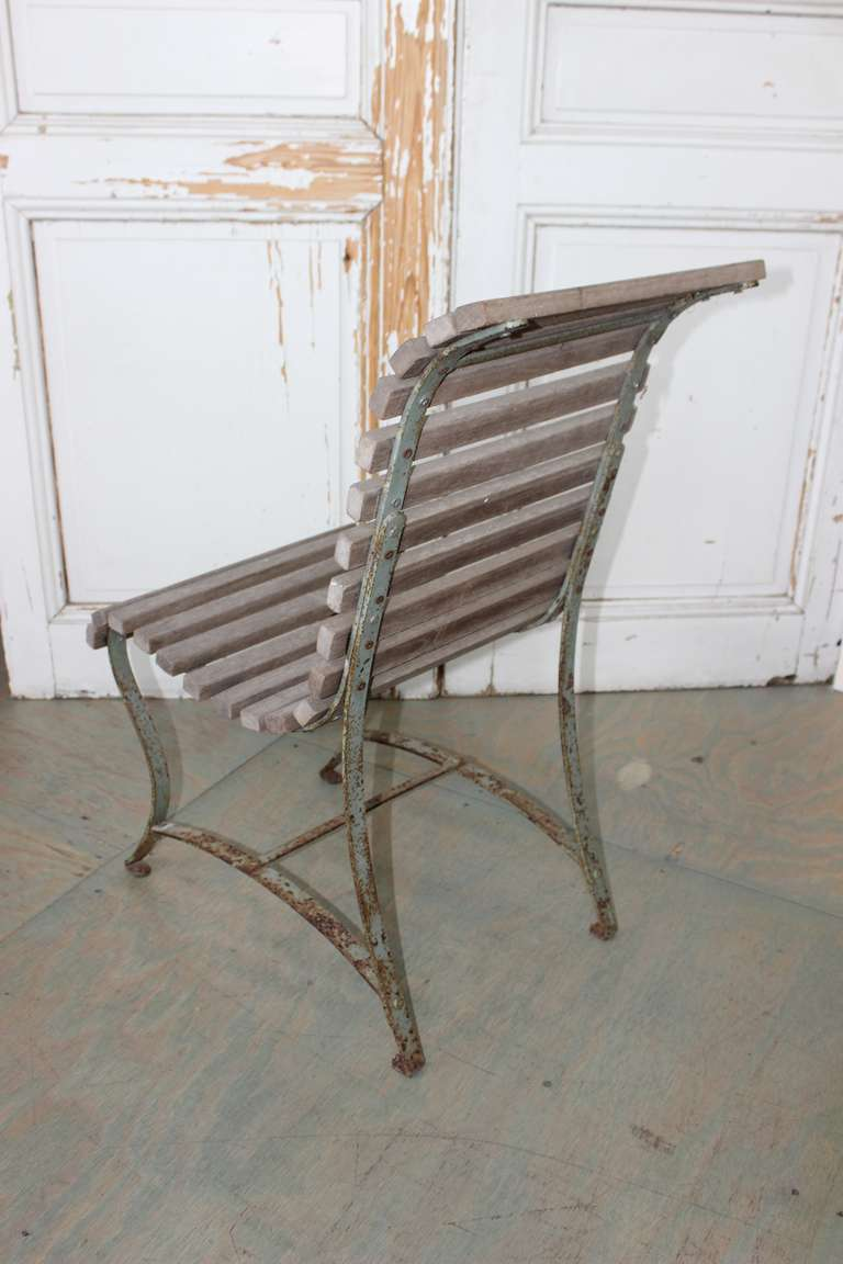 French Garden Side Chair For Sale 4
