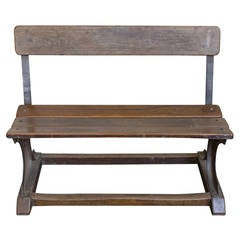 French Industrial Bench