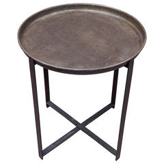 French Industrial Tray Table, 1940s