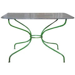 French Early 20th Century Garden Table
