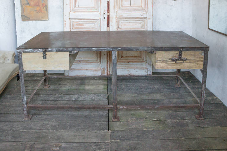 Very Large Iron Factory Table 2