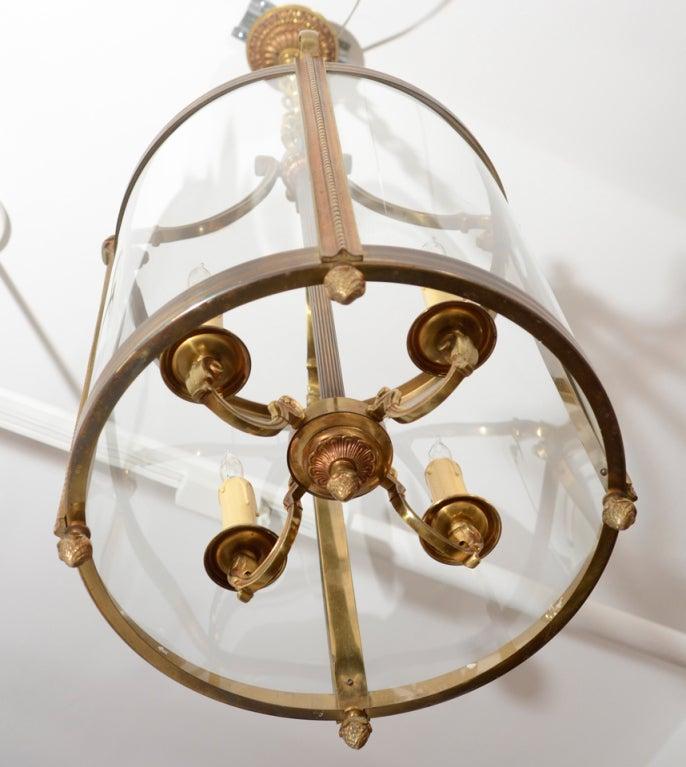 French 1920 S Gilt Bronze Lantern At 1stdibs