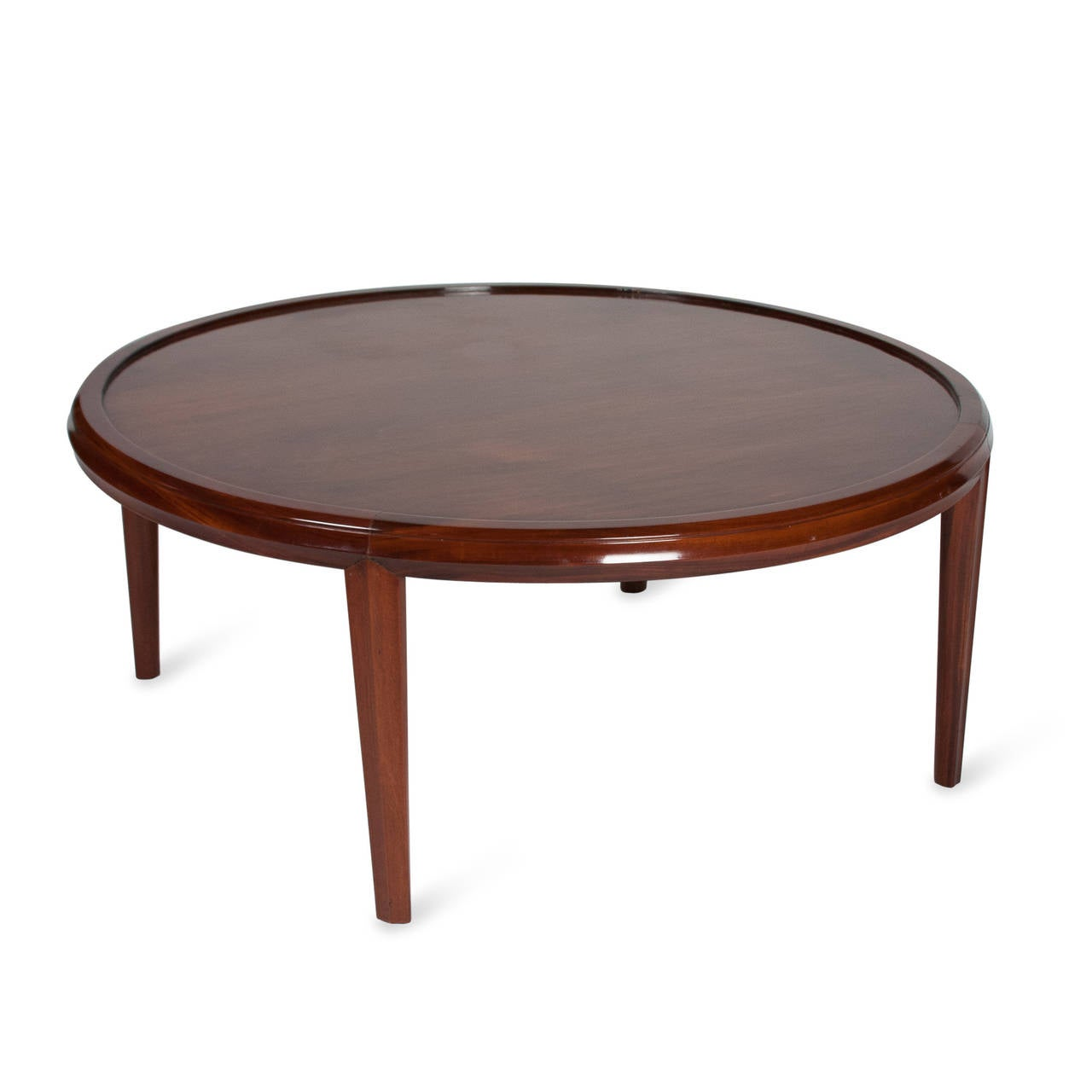 Mahogany Coffee Table By Eugene Schoen For Schmieg Kotzian American 1930s For Sale At 1stdibs