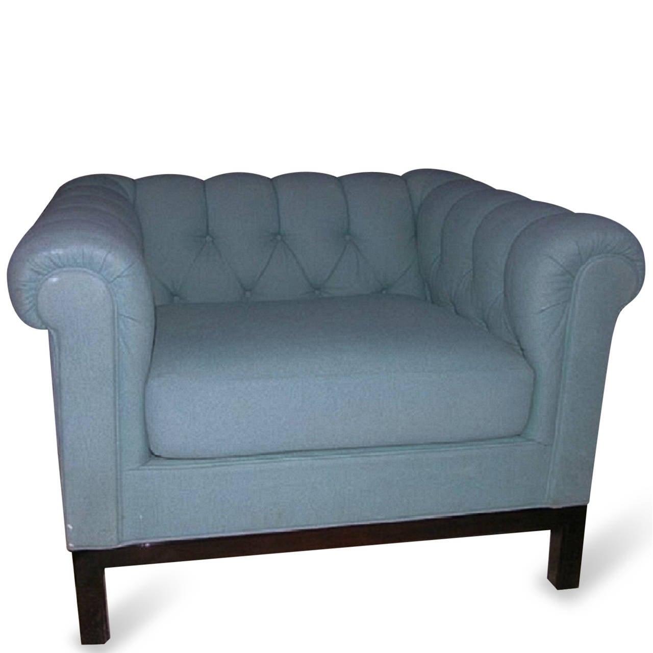 Single armchair by edward wormley for dunbar circa 1960 for Single armchairs