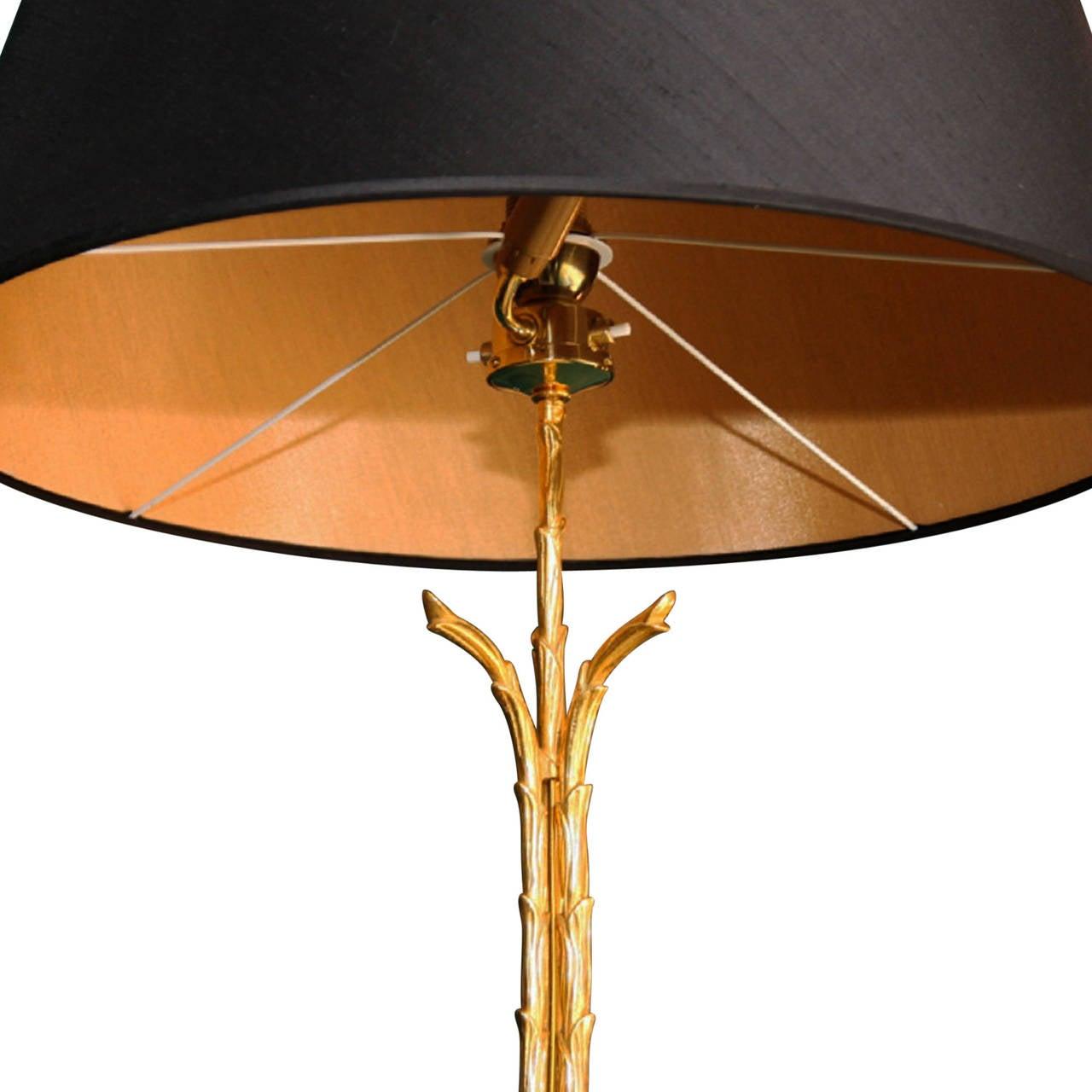 dor bronze floor lamp by bagu s french 1940s for sale. Black Bedroom Furniture Sets. Home Design Ideas
