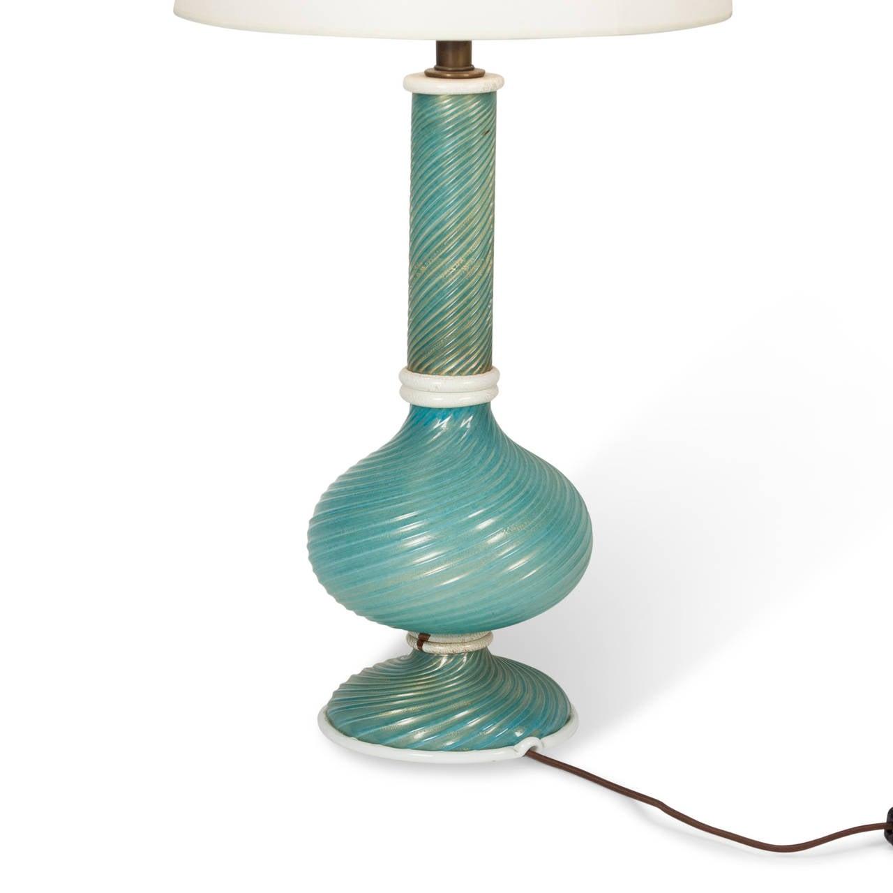 this turquoise swirl glass table lamp by venini 1940s is no longer. Black Bedroom Furniture Sets. Home Design Ideas