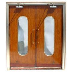 SS Olympia Ocean Liner Lobby Doors