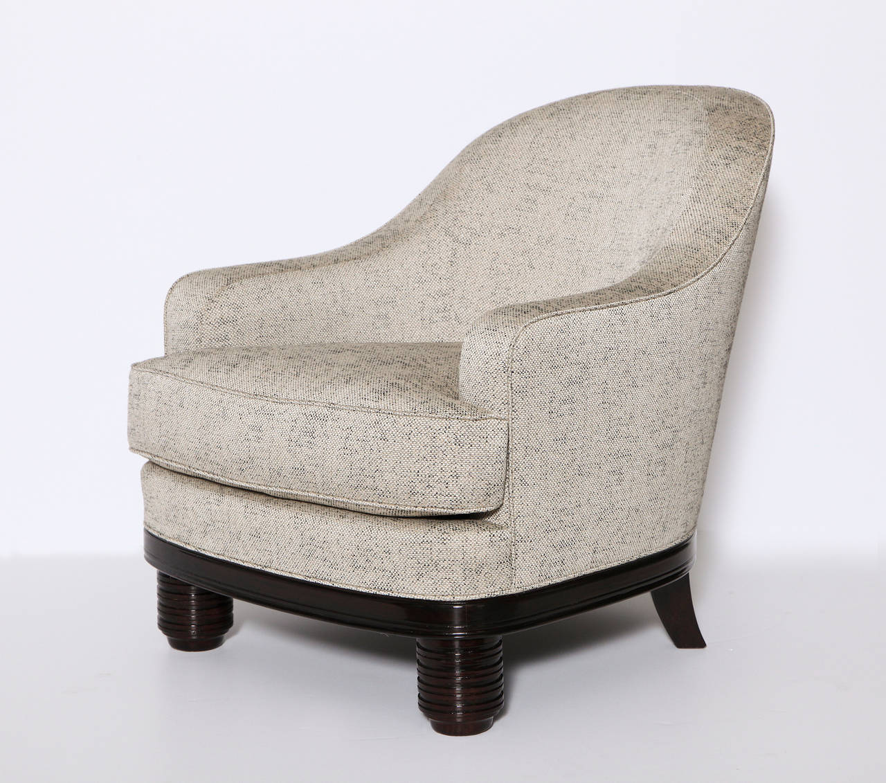 French Paul Follot Pair of Armchairs, France, C. 1927 For Sale