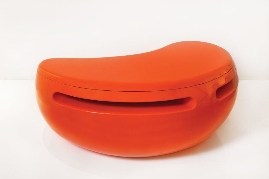 """Maurice Calka for Leleu-Deshays, """"Boomerang"""" Desk, France, 1970 In Good Condition For Sale In New York, NY"""