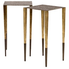 """Upaya"" Fine Contemporary Side Table by Aurelien Gallet"