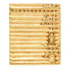 A Gilt-Bronze Box by Line Vautrin