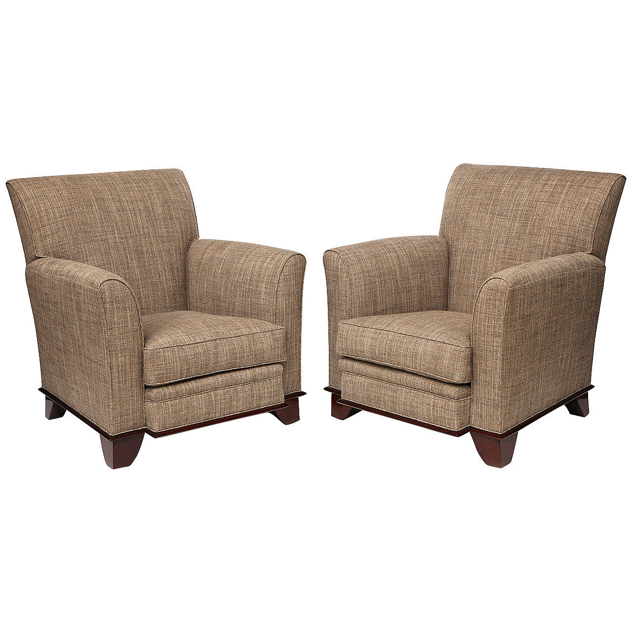 Pair of art deco club chairs france c 1930 for sale at for Decoration maison 1930