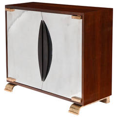 """Shield"" Oak Cabinet by Achille Salvagni"