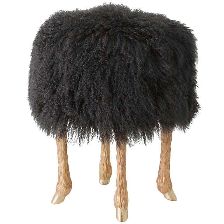 "Marc Bankowsky, ""Pieds de Bouc"" Stool, France, 2013 For Sale"