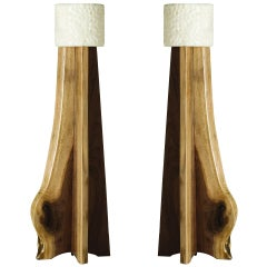 Stephen Downes, Copiaco, Pair of Table Lamps, USA, 2011