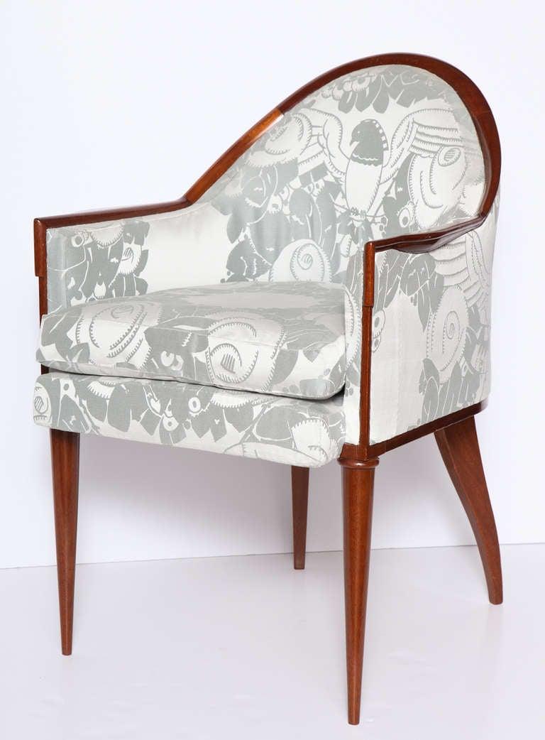 Emile jacques ruhlmann fauteuil guind armchair france c 192 - Fauteuil annee 30 art deco ...