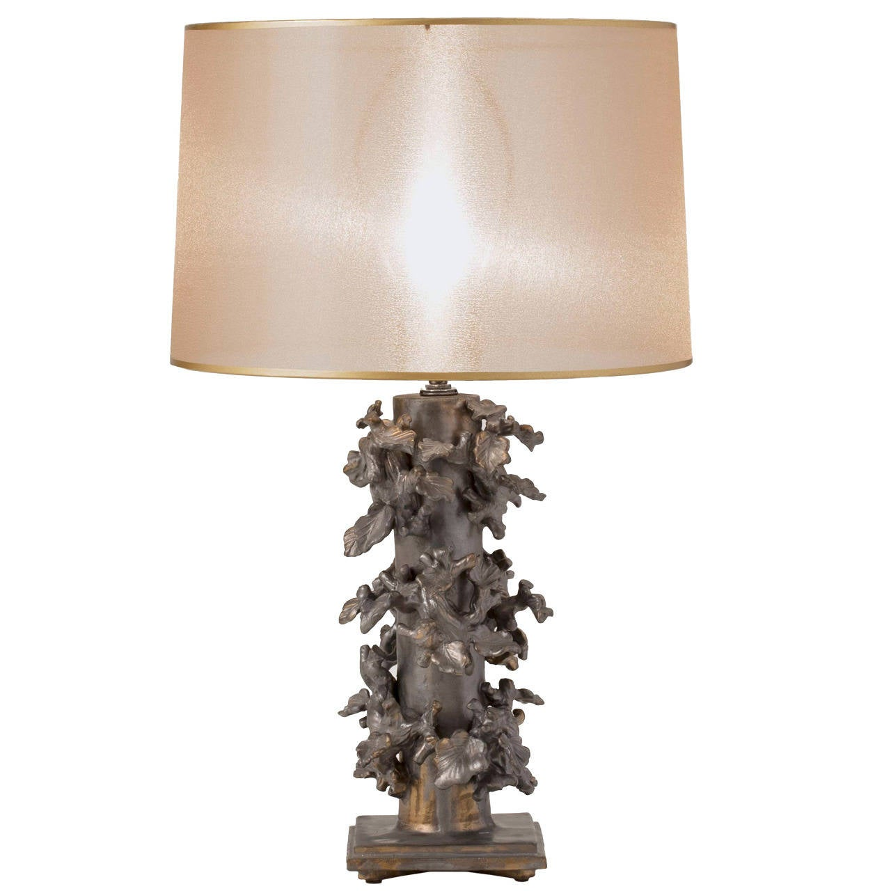Unique Glazed Stoneware Table Lamp By Matthew Solomon At