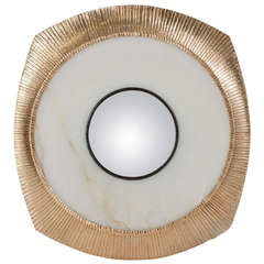 Mirror by thomas boog at 1stdibs for Miroir concave