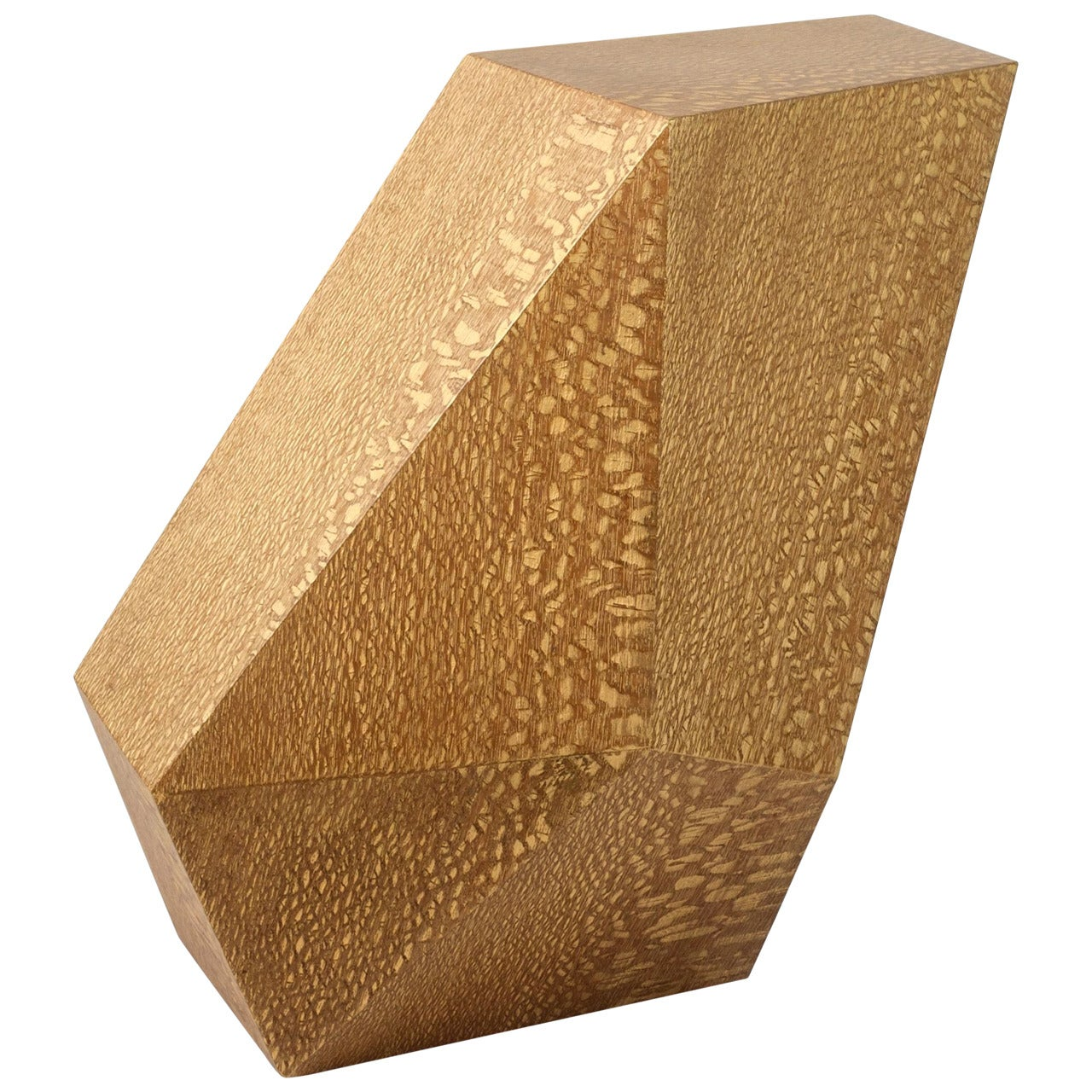 """Achille Salvagni, """"Emerald"""" Lacewood Side Table, Italy, 2015"""