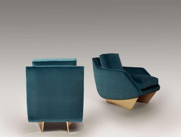 American Georgis & Mirgorodsky, 'Whalebone' Armchair, United States, 2014 For Sale