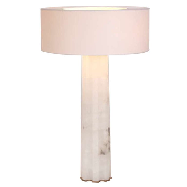 "Hervé Van Der Straeten, ""Athéna"" Alabaster Table Lamp, France, 2012 For Sale"