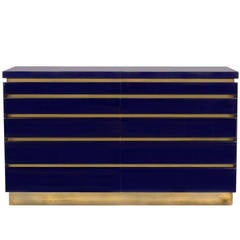 Lacquered Chest by Jean-Claude Mahey